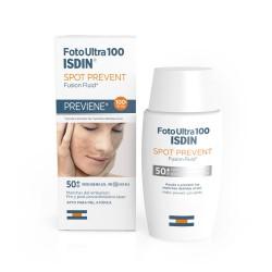 Foto Ultra 100 Spot Prevent  Fusion Fluid Isdin 50 ml