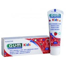 Gum pasta dientes junior fresa 2-6 años