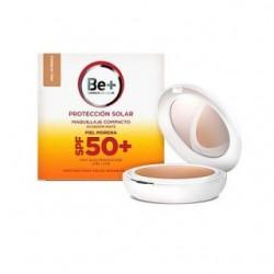 Be+ protección solar maquillaje compacto SPF50+ piel morena 10g