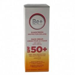 Be+ fotoprotección crema facial piel seca SPF 50+ 50ml