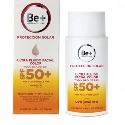 BE+ ultrafluido facial 50 color SPF 50 50 ml