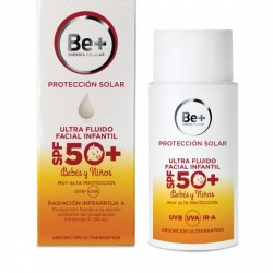 Be+ fotoprotector facial ultrafluido infantil