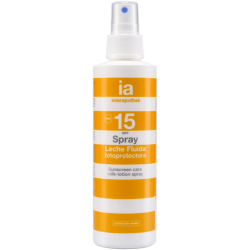 Spray fotoprotector SPF 15