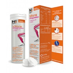 vitans magnesio 15 comprimidos efervescentes