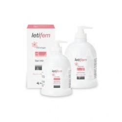 Letifem woman gel íntimo duplo  2x250 ml