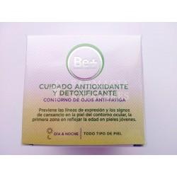 Cuidado antioxidante y detoxificante contorno de ojos Be+