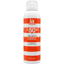Interapothek aerosol transparente 50+ spray solar