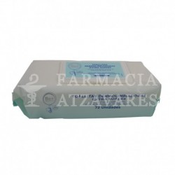 be+  toallitas dermolimpiadoras extrasuaves 72 unidades