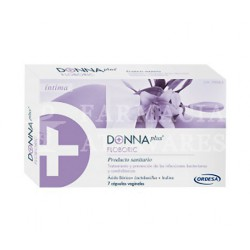 Donna plus+ floboric cápsulas vaginales