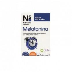 Ns Melatonina 30 comprimidos masticables